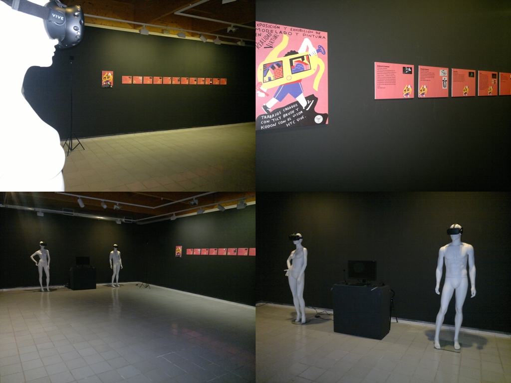 "Taking part in Europes first Virtual Reality Art Exhibition ""Las Ranetas"" Spain"