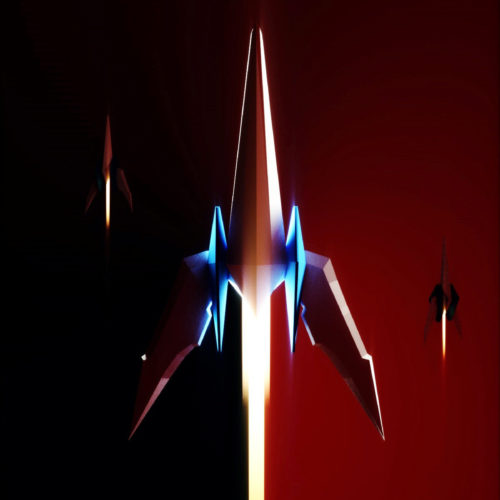 starfox arwing vr spaceship