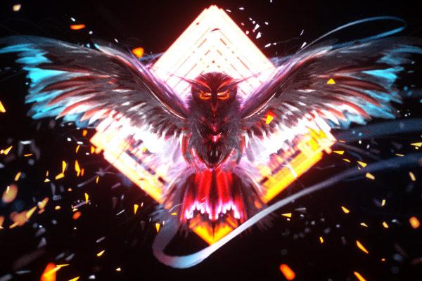 NEON OWL ART Virtual Reality vrhuman vreveryday 186